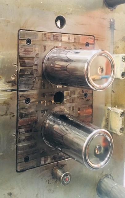 Manutenção em moldes de injeção