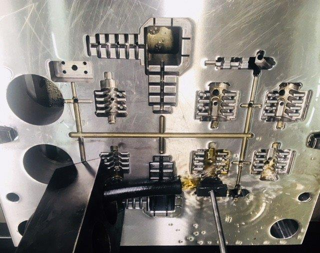 Usinagem de moldes e matrizes
